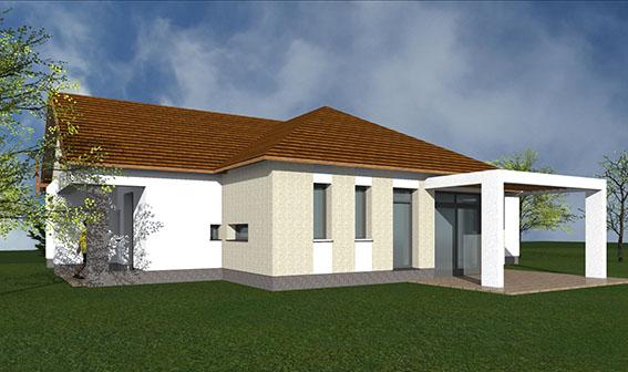 2 Budajenő kivitelezés tervezés építés családi ház