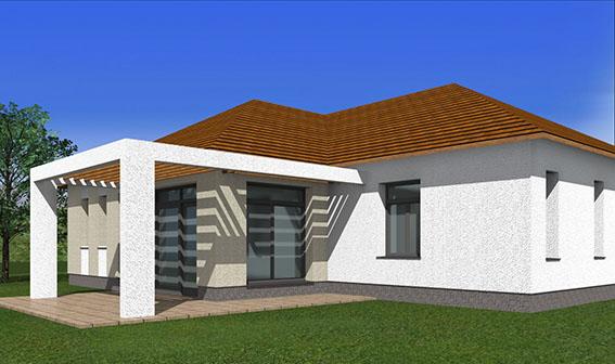 3 Budajenő kivitelezés tervezés építés családi ház