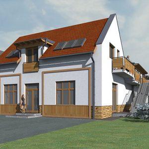 3 Diősjenő lakóépület tervezés turisztika